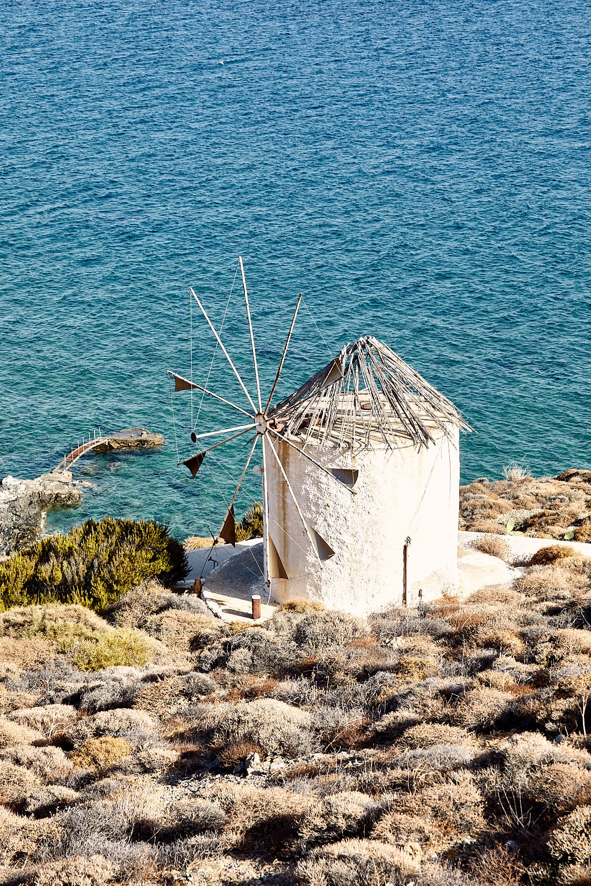 Moulin, Anafi, Cyclades
